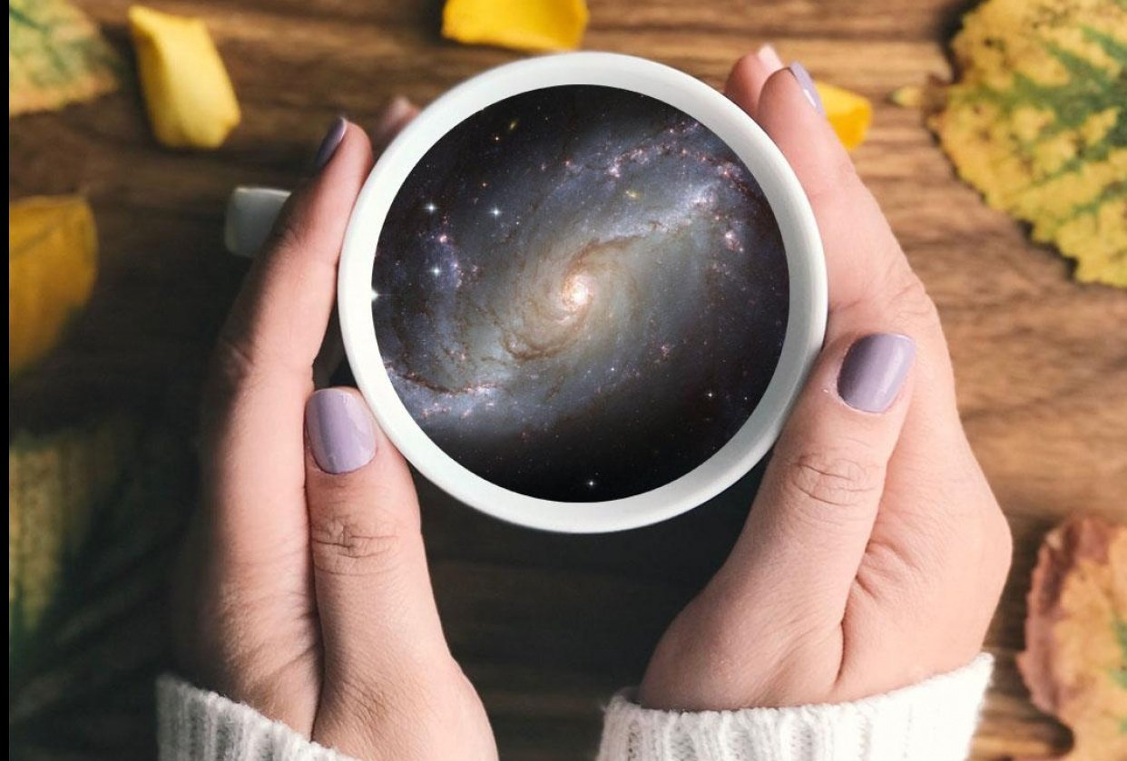 Galaxy on a Teacup - student project
