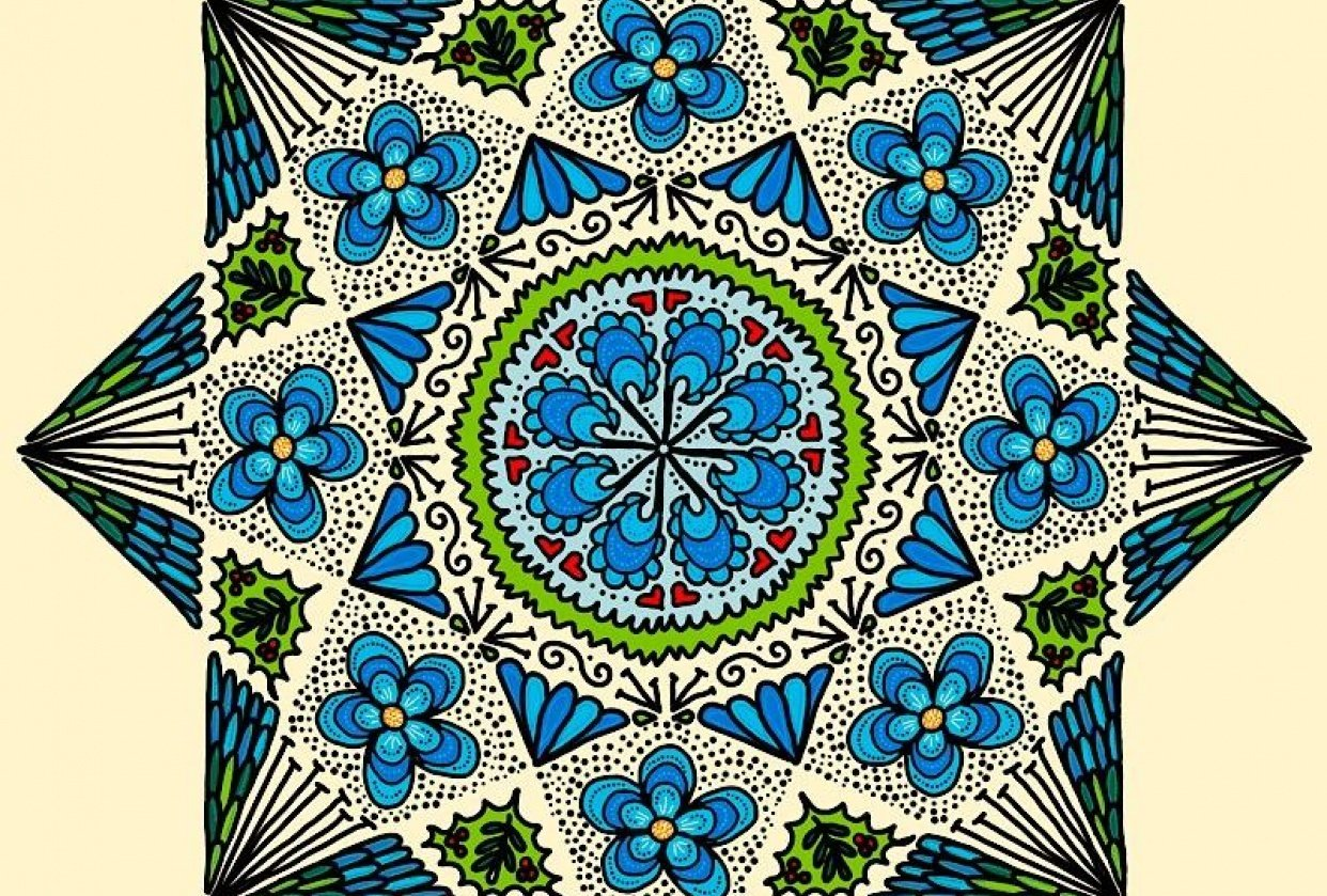 Fun with Mandalas! - student project