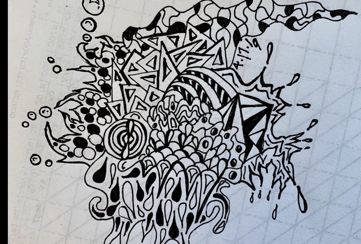 mtg doodle - student project