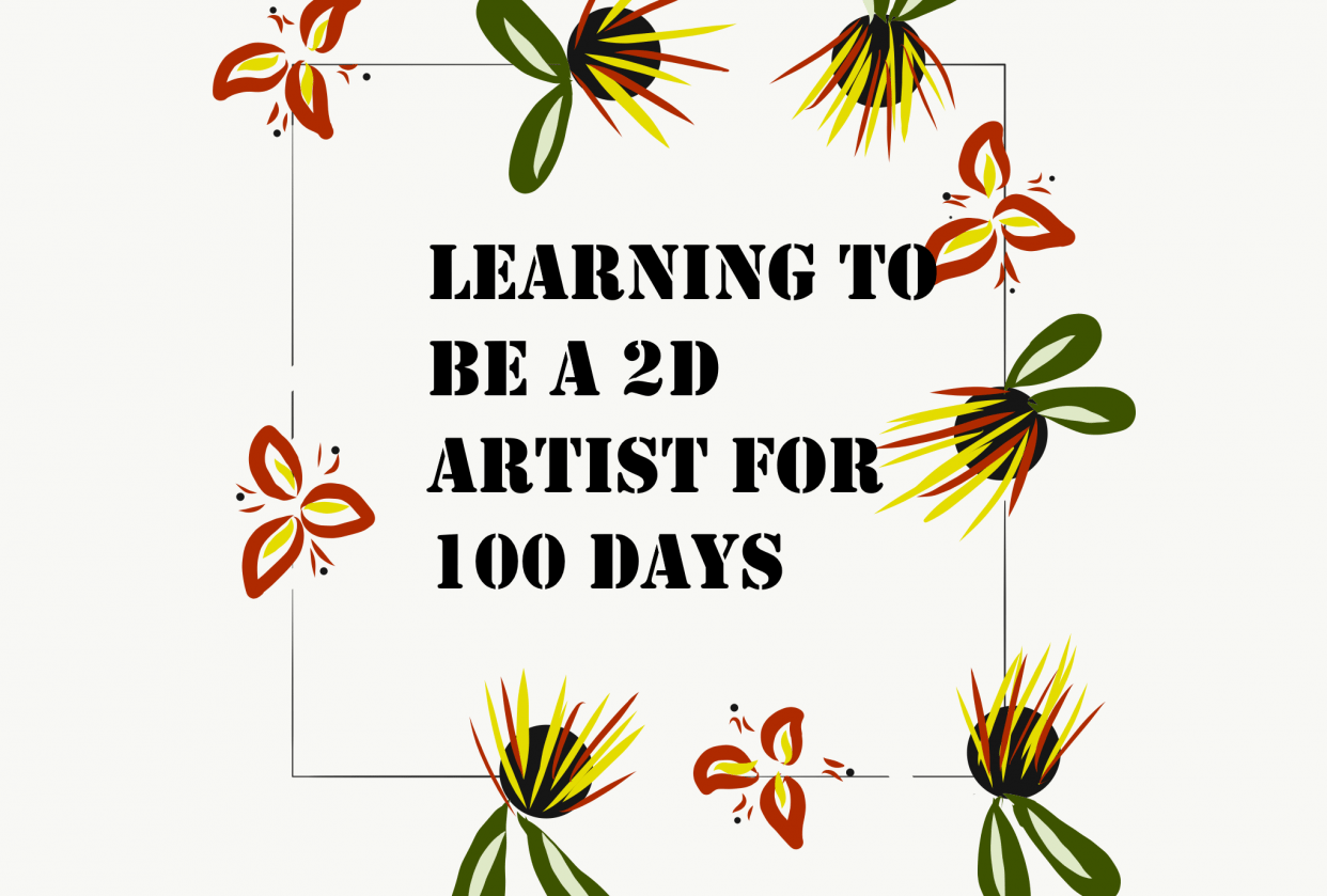 learning to be a 2d artist for 100 days - student project