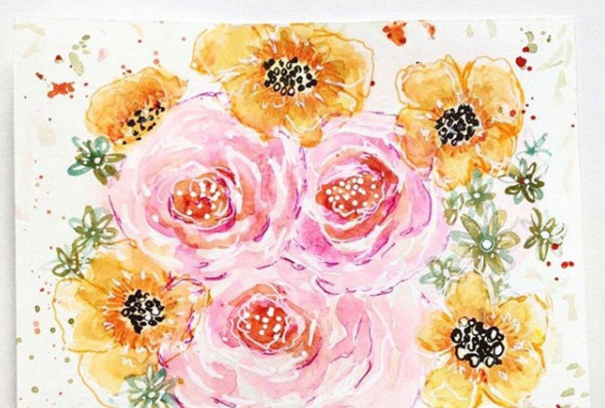 Fantasy Florals - student project