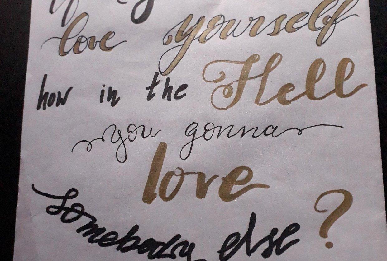 Lettering Challenge (@dijo_el_cuervo) - student project