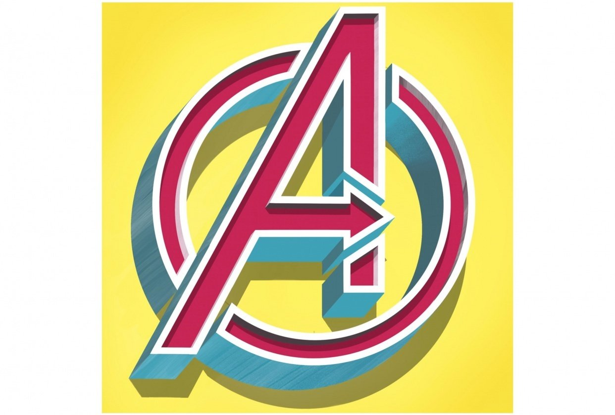 A stands for Avengers - student project