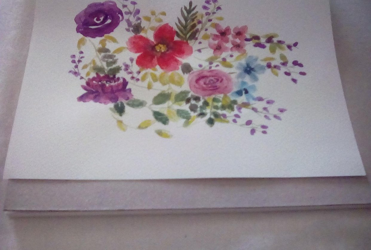 Loose florals - student project