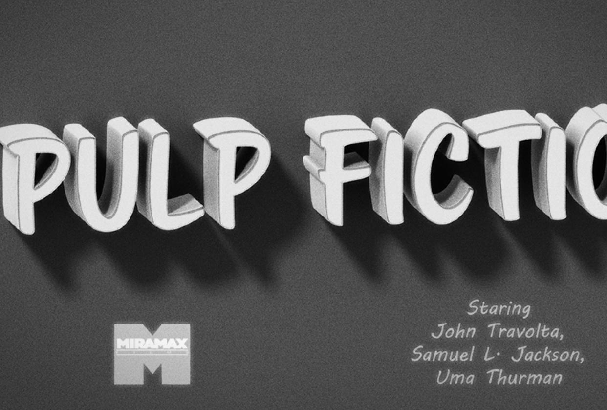 Pulp Fiction - student project
