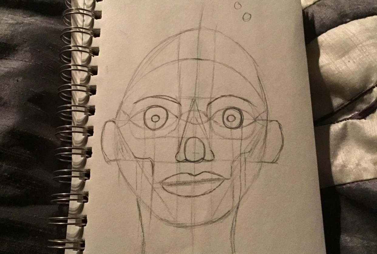 First face attempt - student project