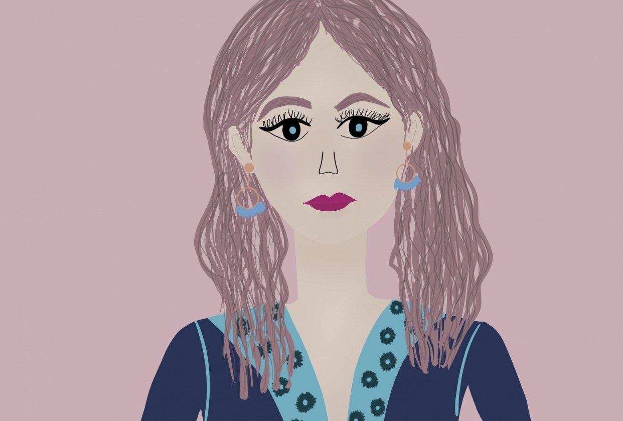 La chica colorida - student project