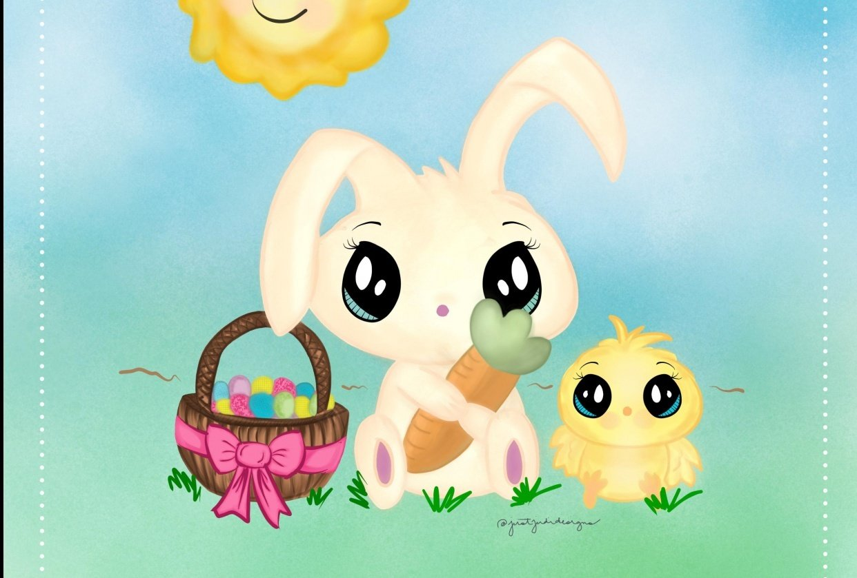 Easter Art Print - student project