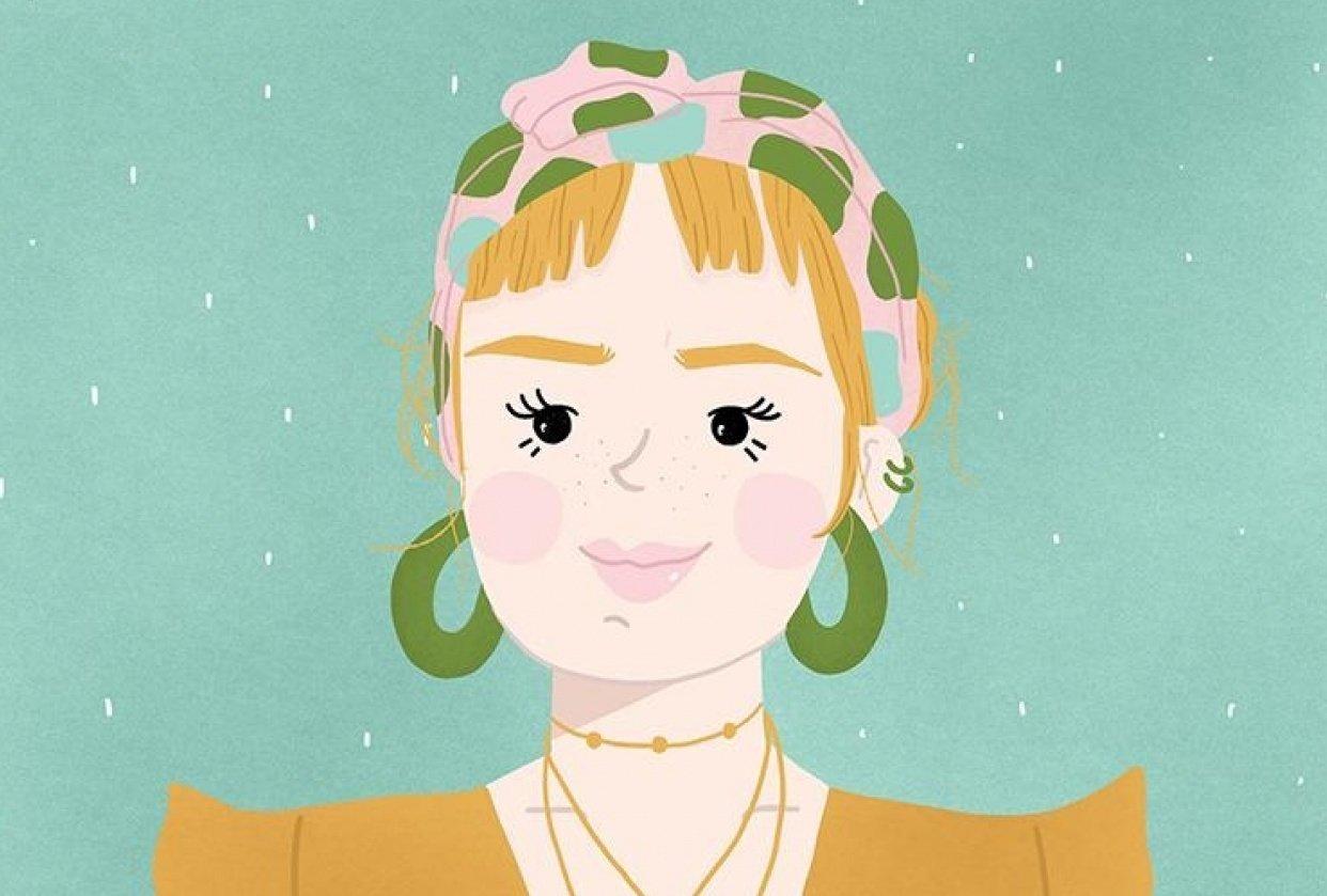 Boho Girl - student project