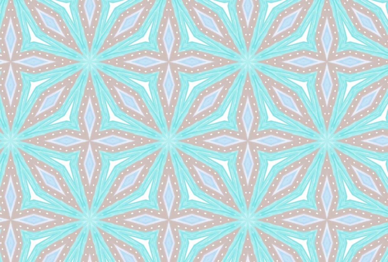 Blue Star Surface Pattern Project 1 - student project