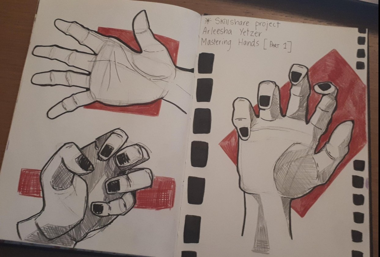 3 Hand Challenge - student project