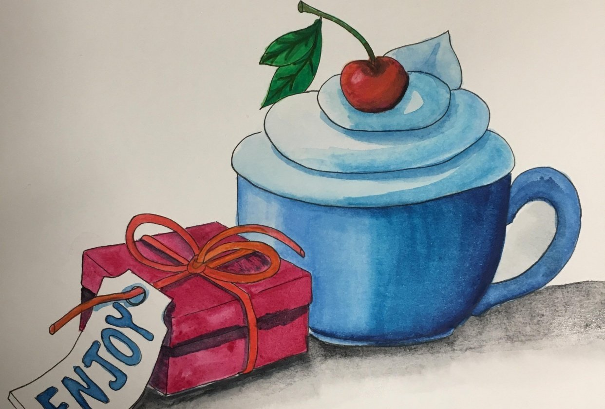 coffee and gift - student project