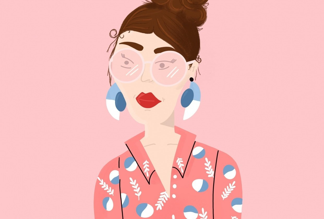 Pink Glasses - student project
