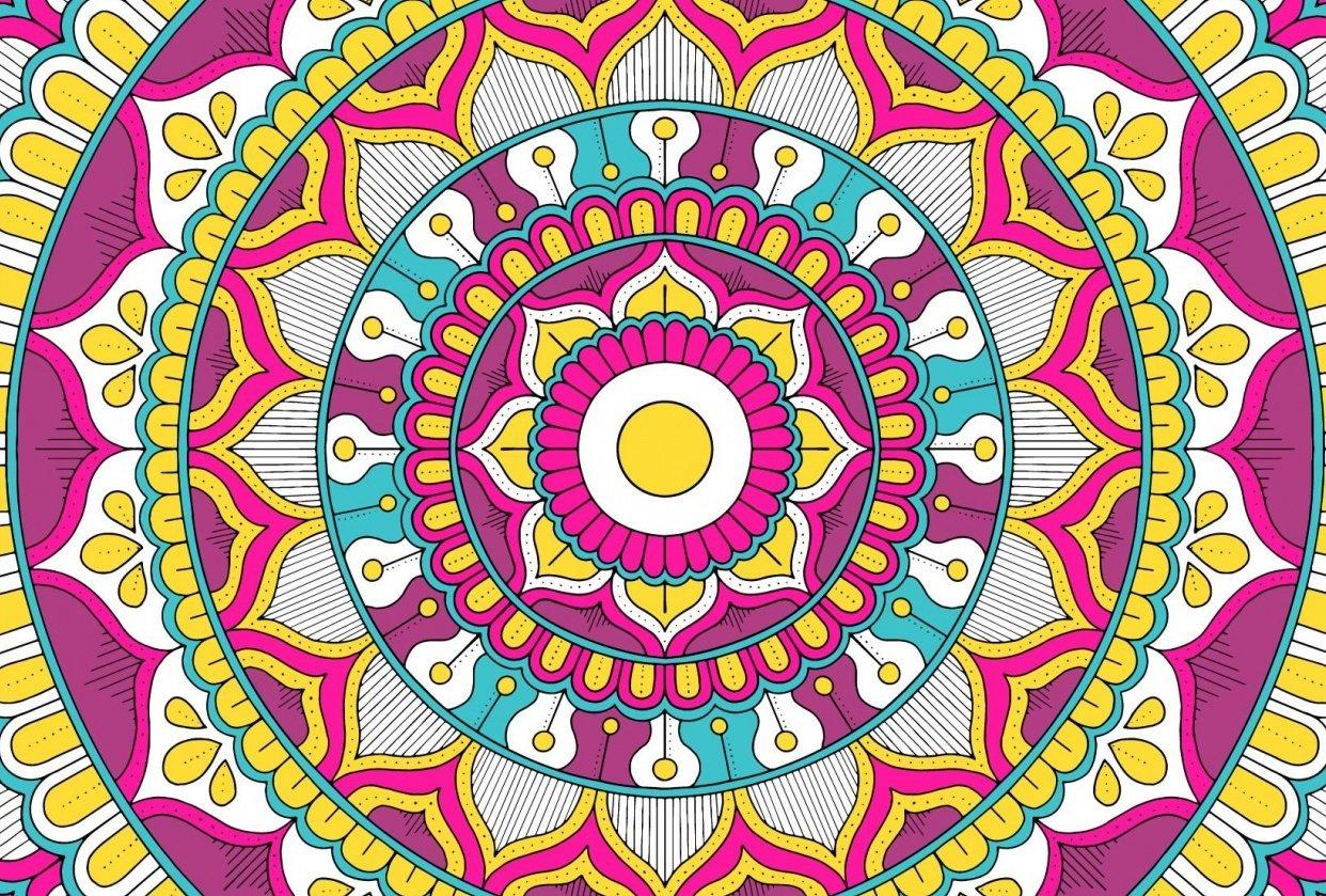 My Mandala Design - student project