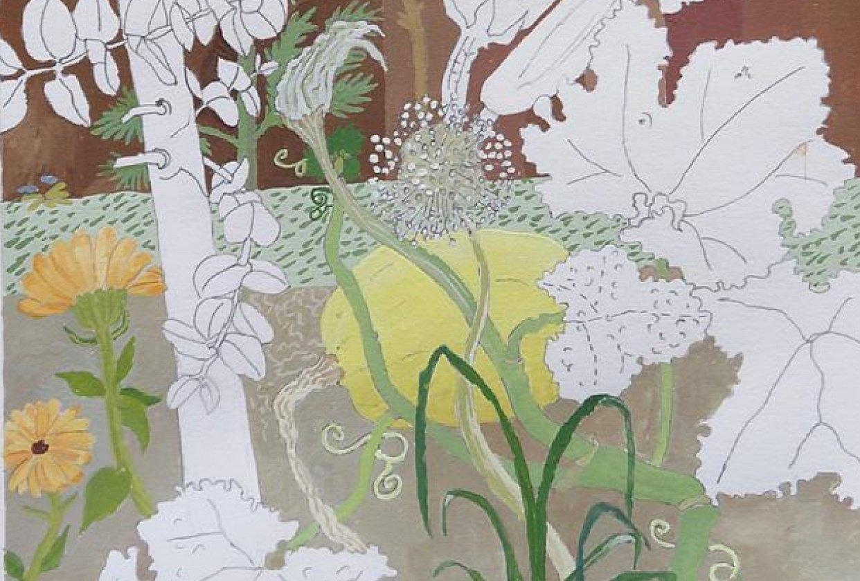 Autumn Garden 2019 - student project