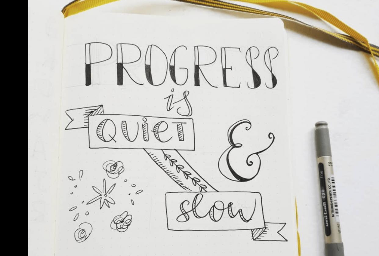 Progress is quiet & slow - student project