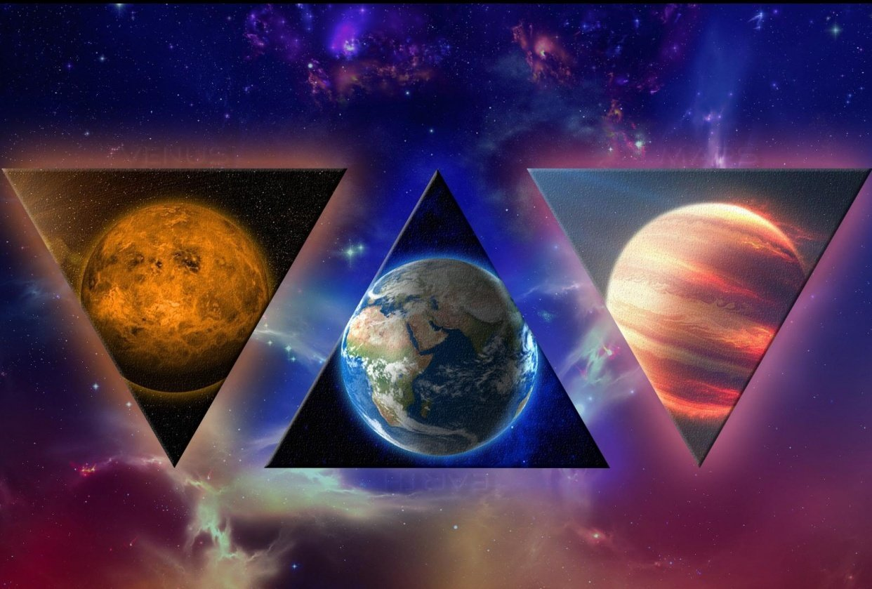 Earth's neighbor planets - student project