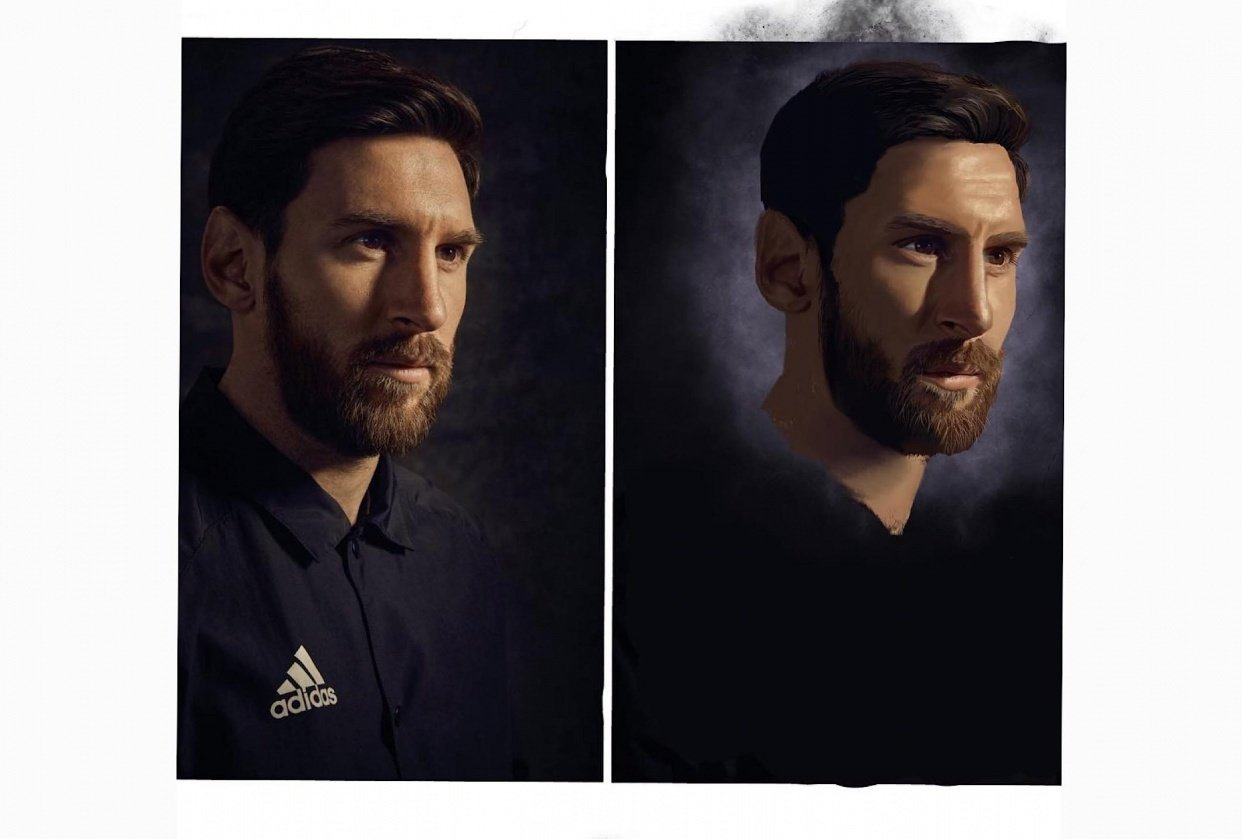 Leo Messi - student project