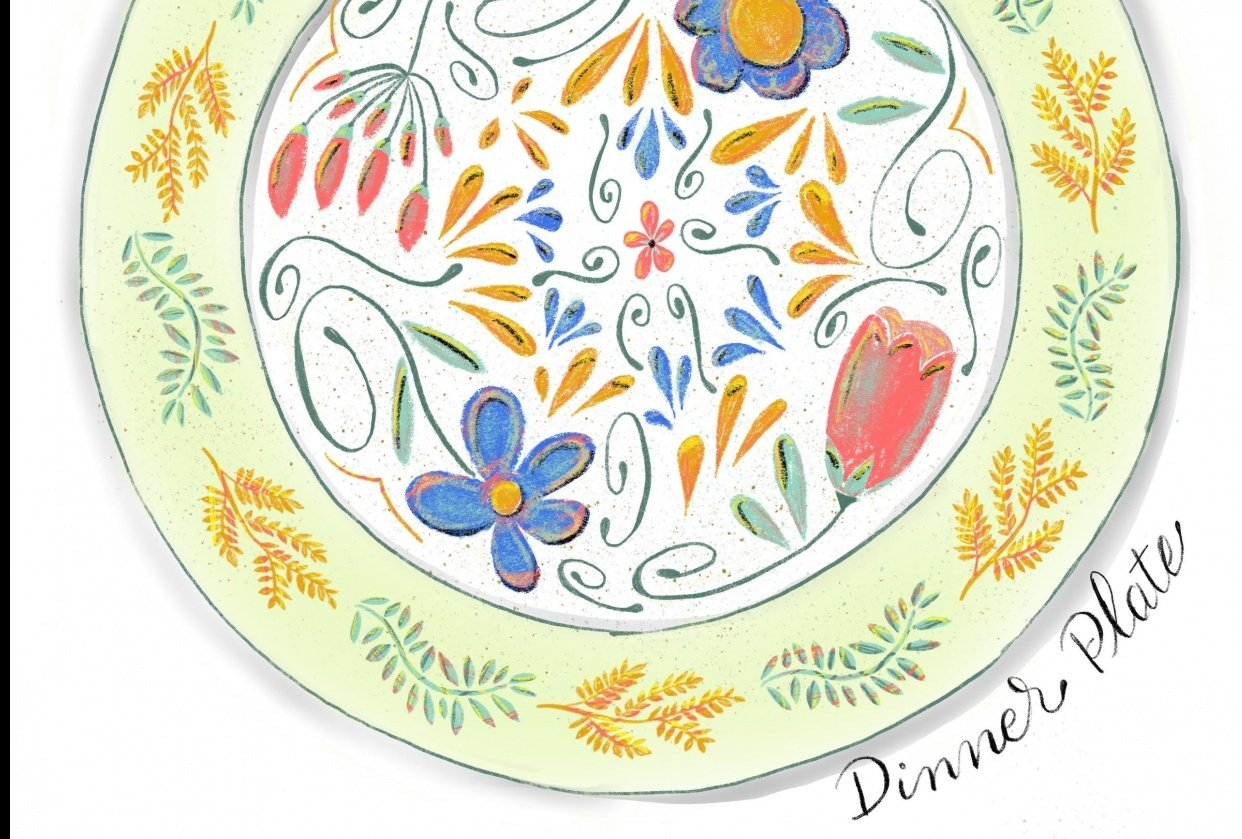 Dinner Plate - student project