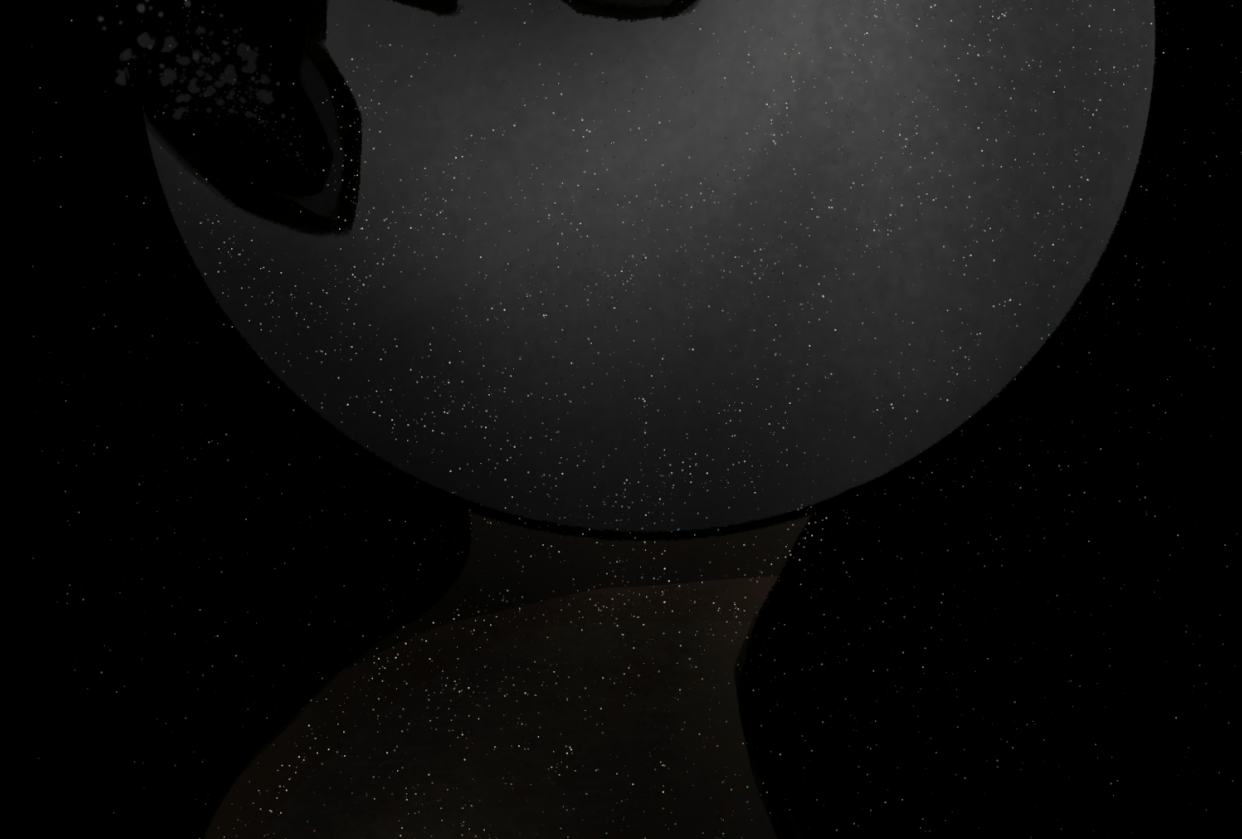 Lonely Moon Guy - student project