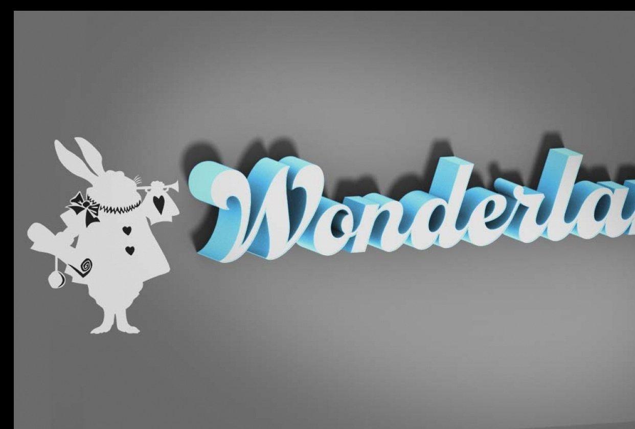 Wonderland - student project