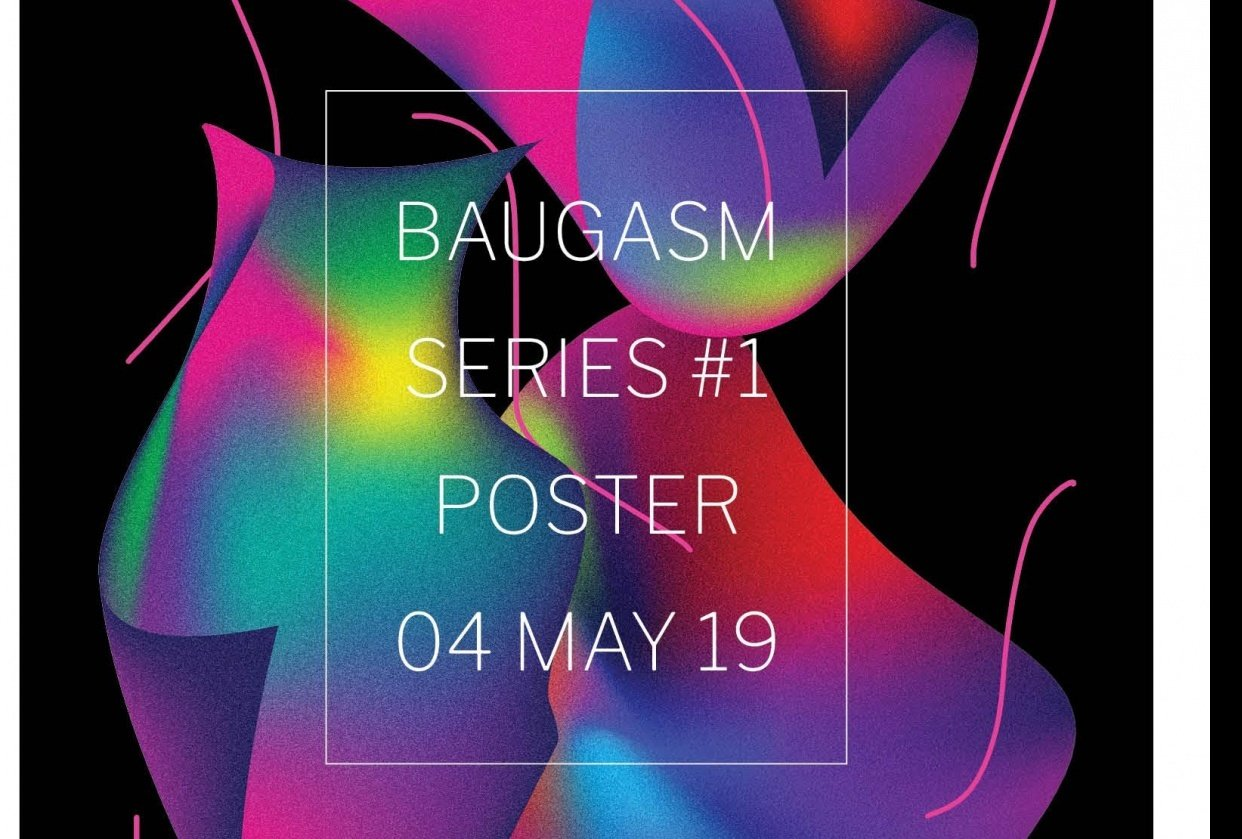 Baugasm Series #1 Poster - student project