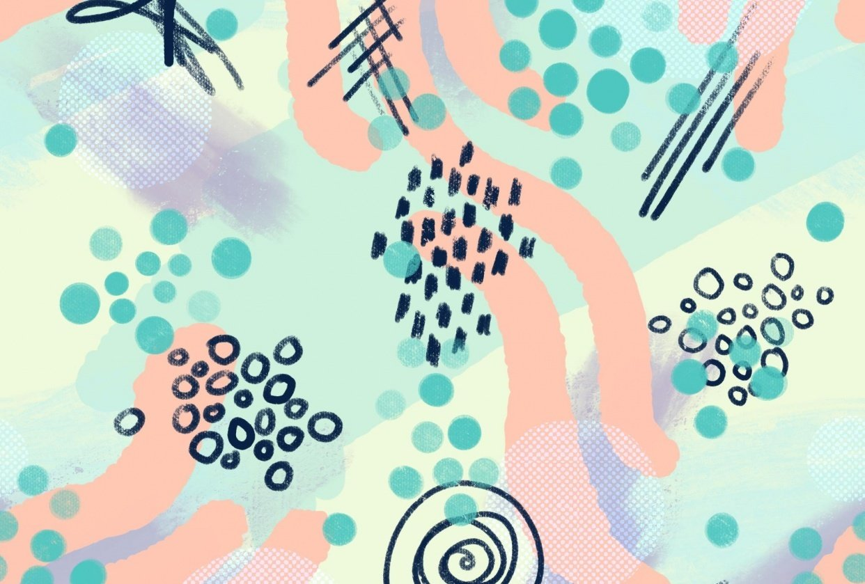 abstract pattern - student project