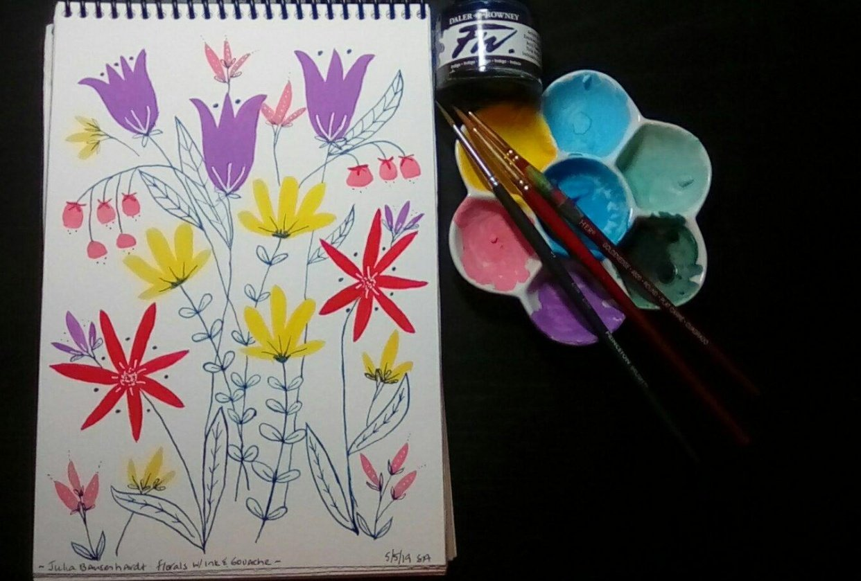My project with spring colors! - student project