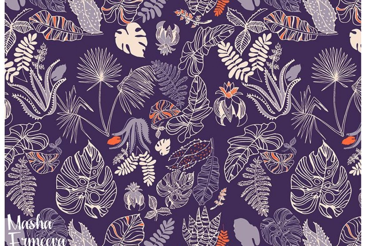 Tropical Foliage - student project