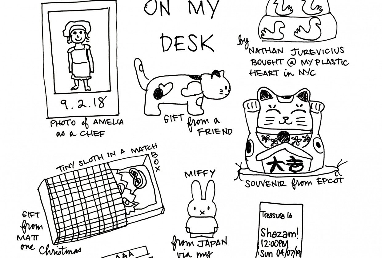 Small Random Shit On My Desk - student project