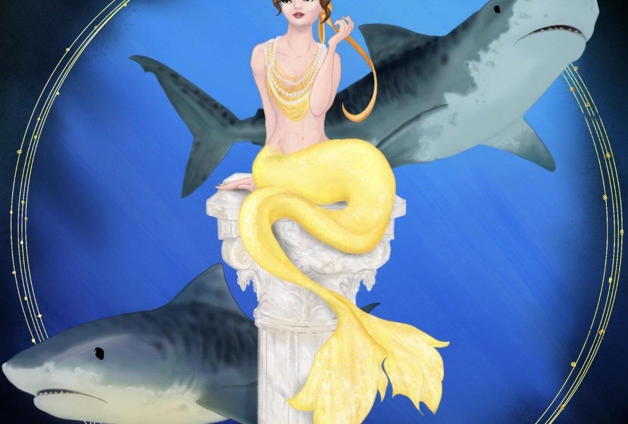 Extravagant Mermaid - student project