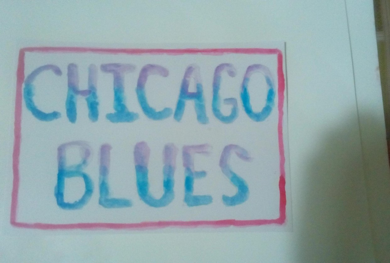 Chicago Blues Guitar Playing : An Introduction - student project