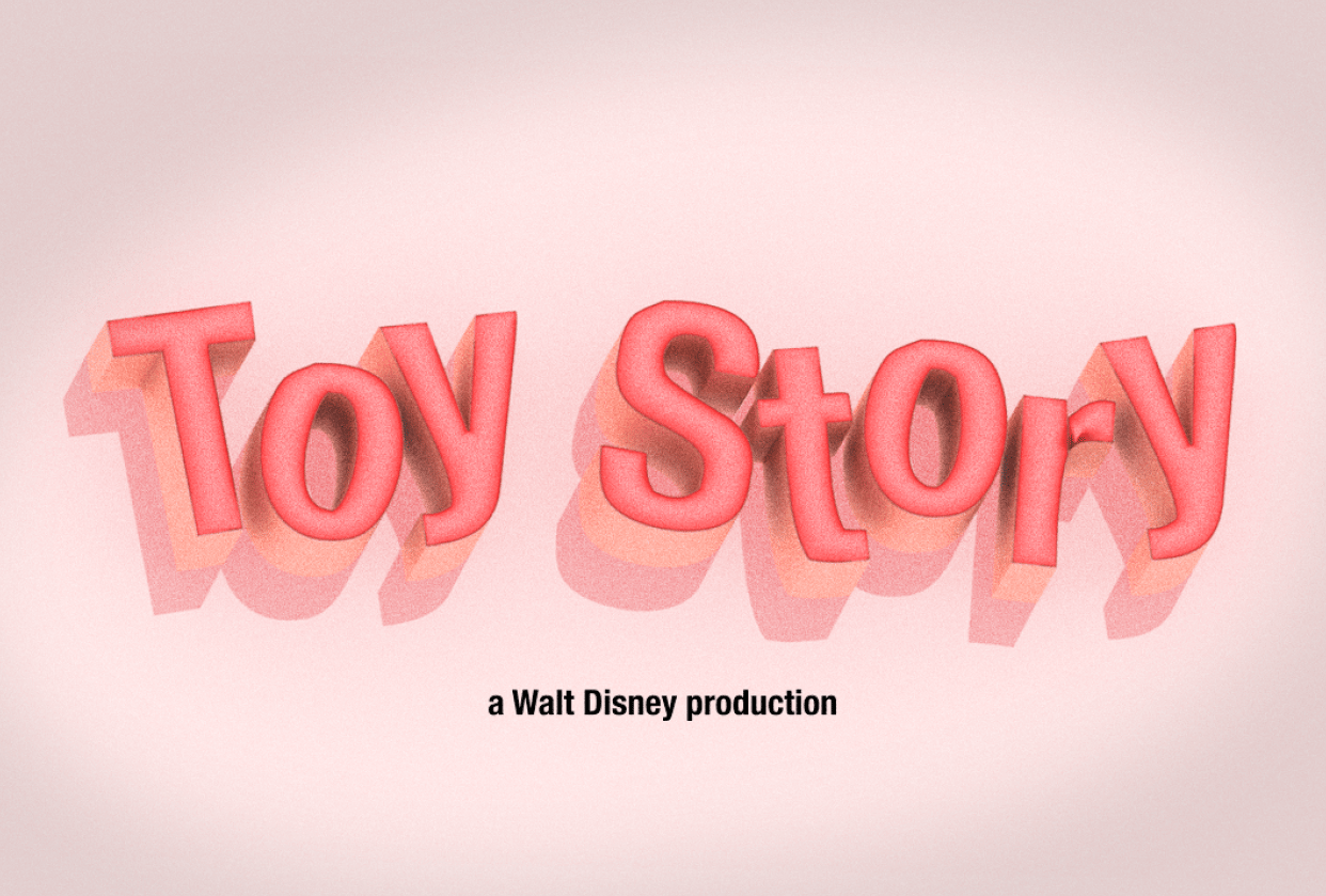 Toy Story - student project