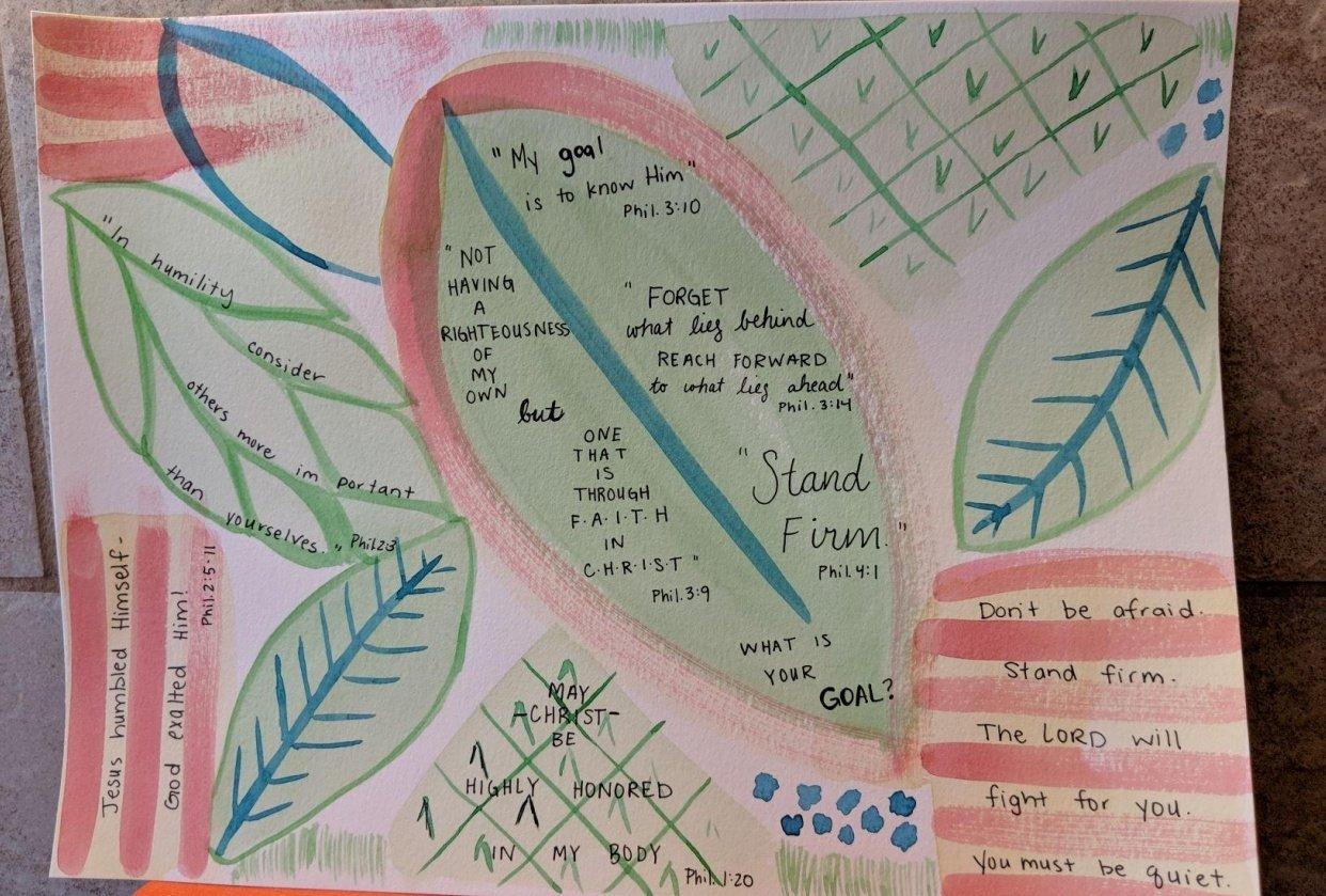 Leaf Meditation - student project