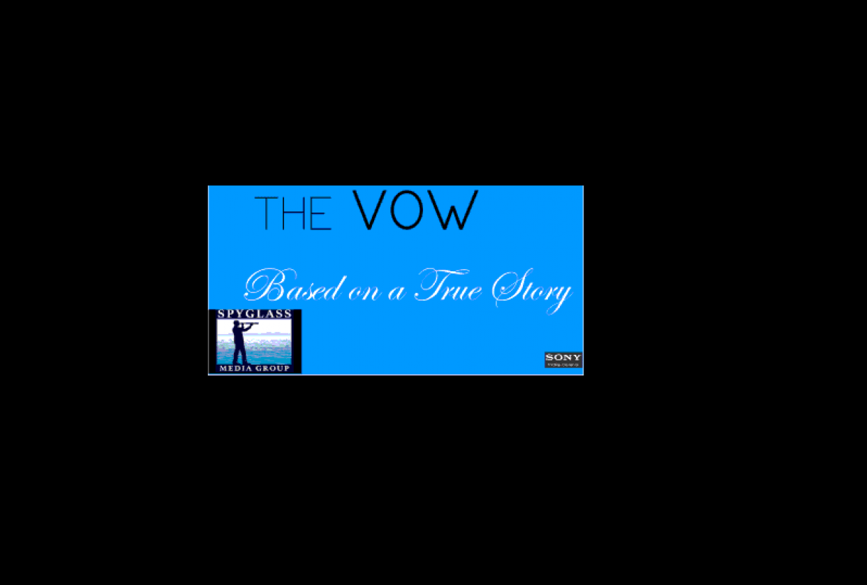 The Vow Classic Movie Card - student project