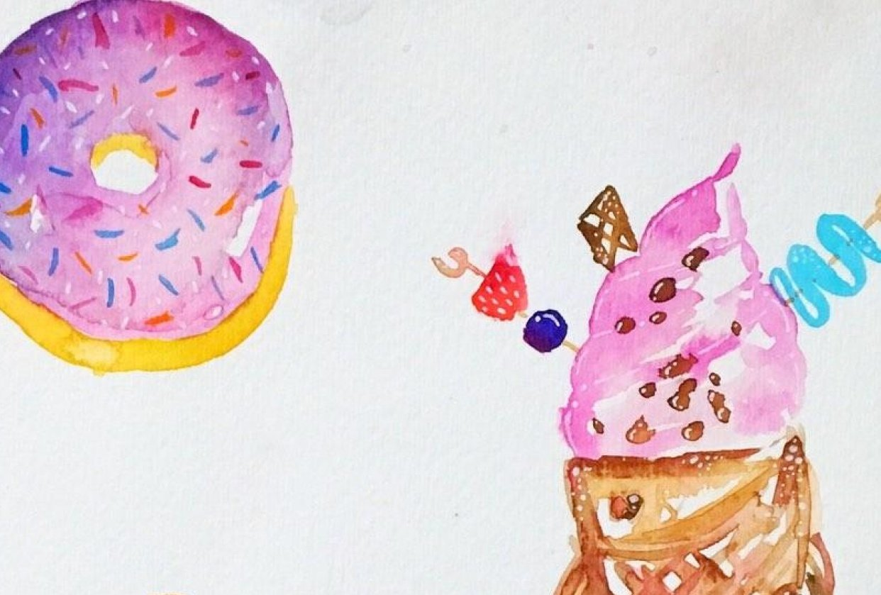 Sweets and treats *in progress* - student project