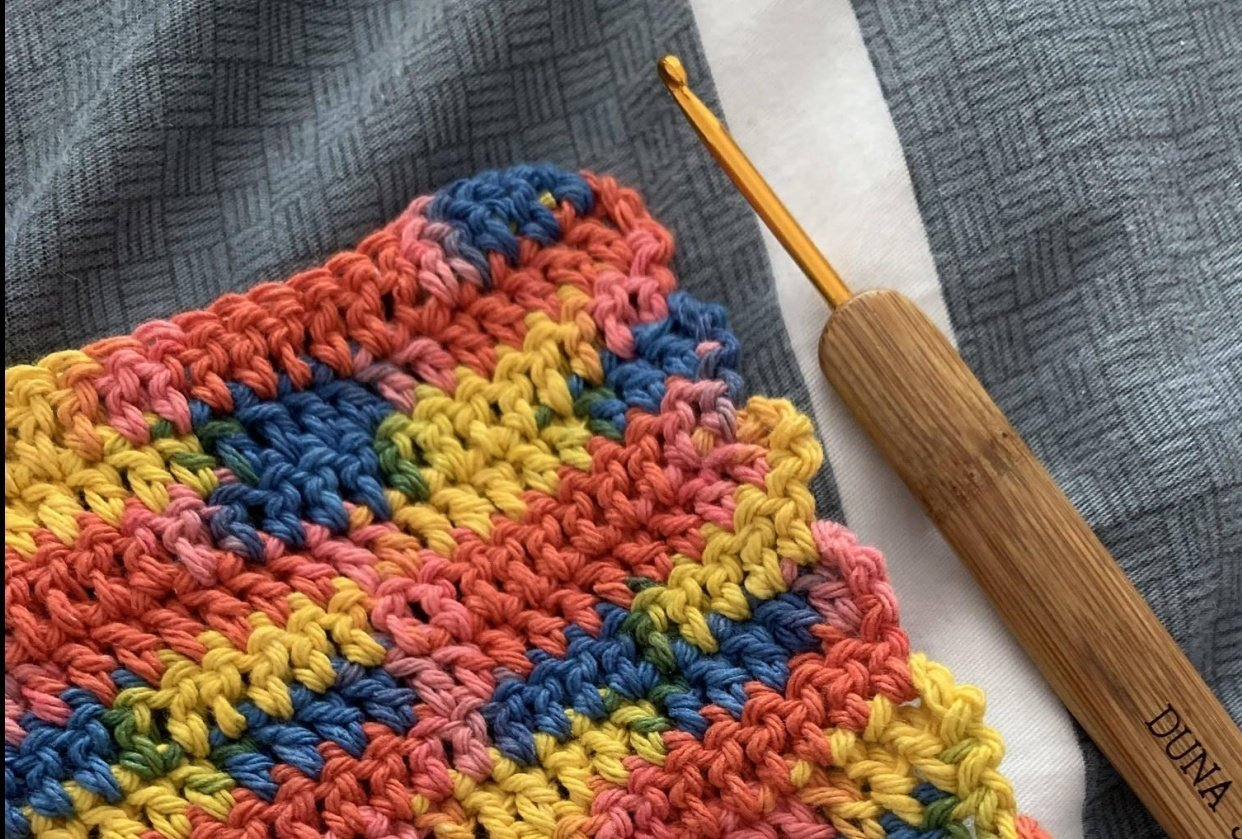3 washcloths - student project