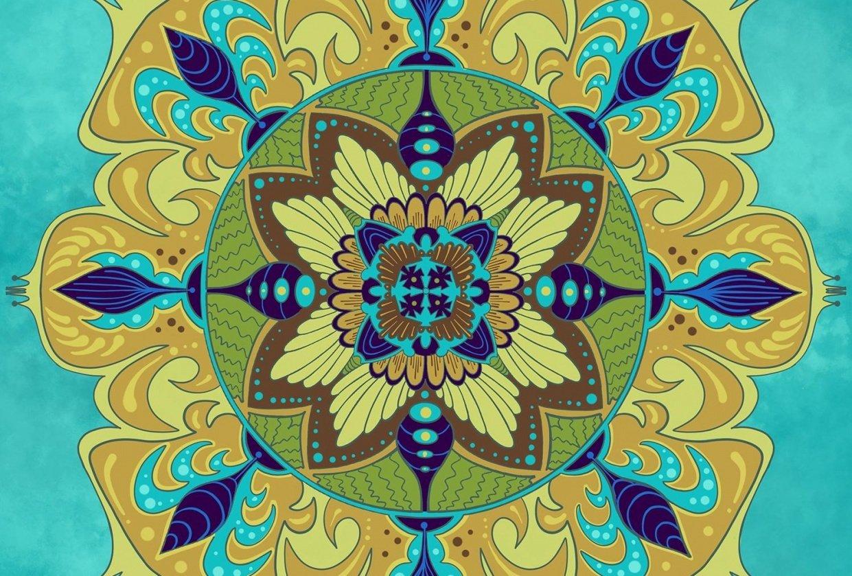 Artsnacker Mandala - student project
