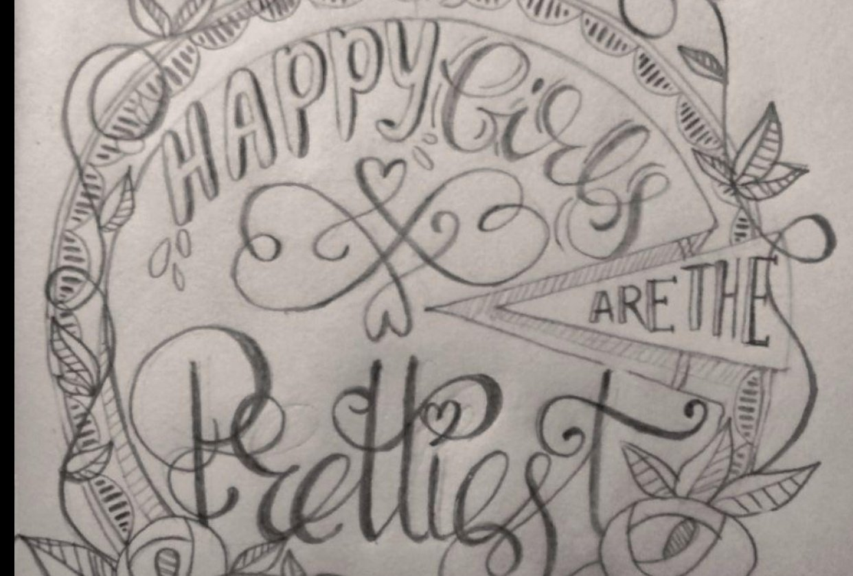 Happy Girls are the Prettiest - student project