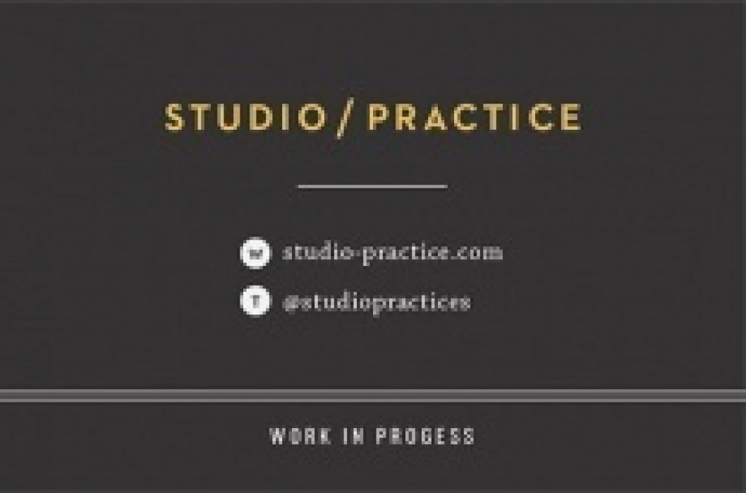 Studio/Practice - student project