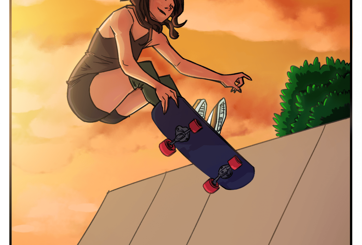Skater Girl - Final Product - student project