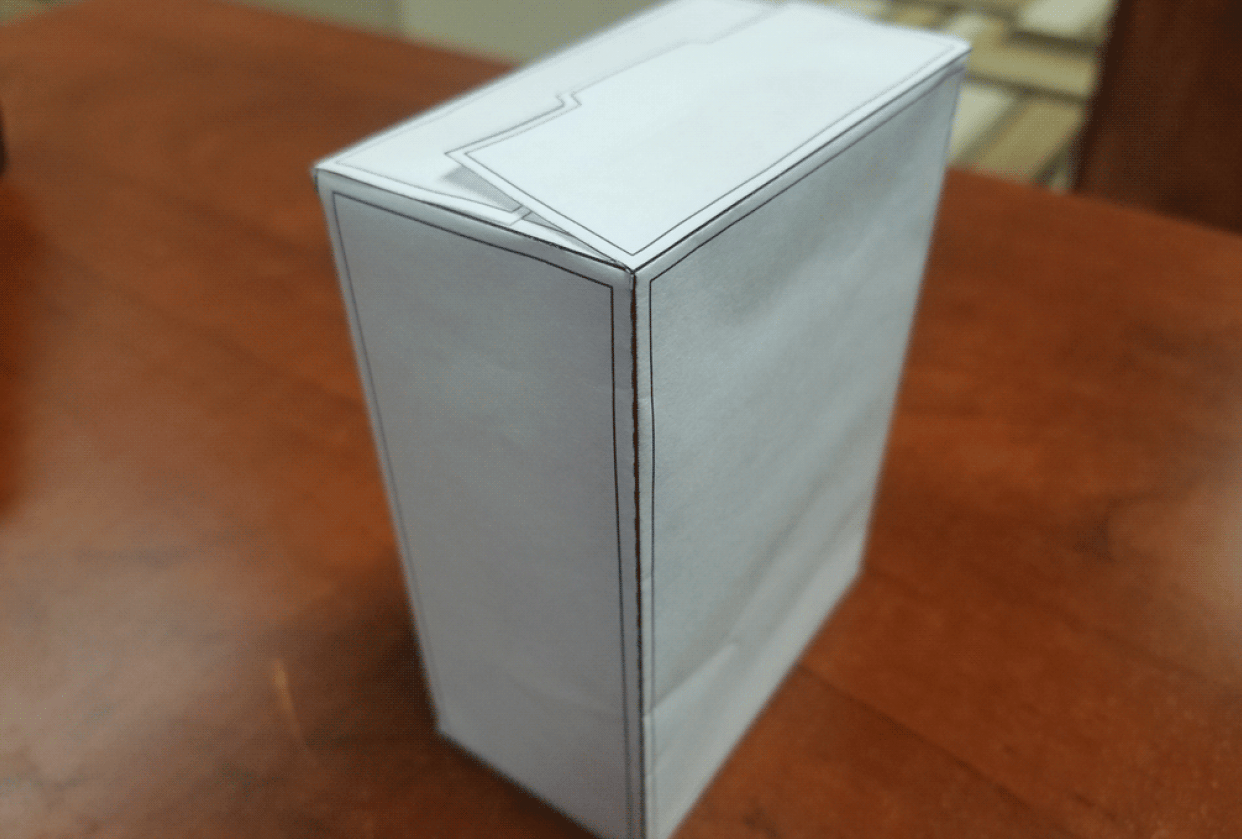Cereal Box project - student project