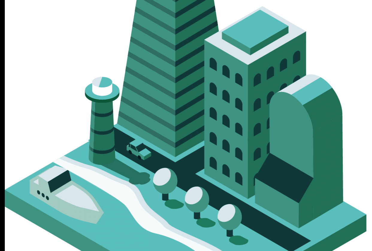 Isometric City - student project
