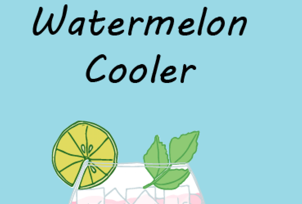 Watermelon Cooler - student project