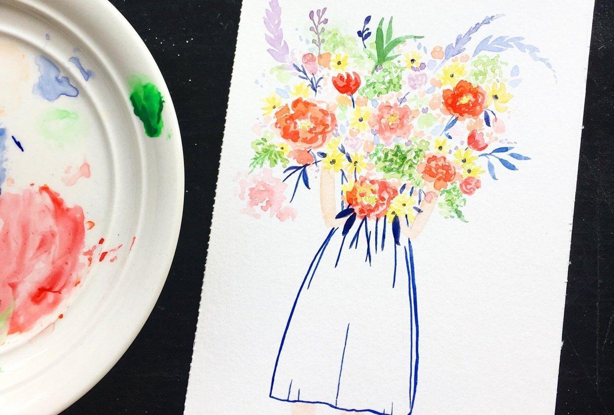 Niña De Las Flores - student project