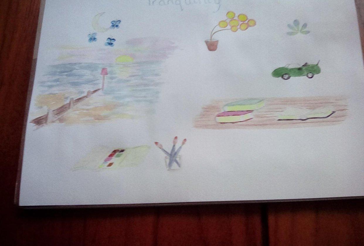 Sketchbook - student project