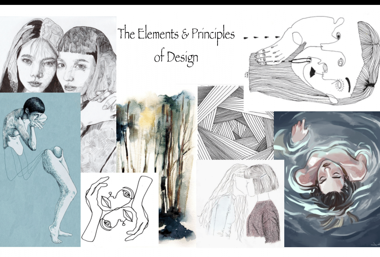 The Elements & Principles of Design - student project
