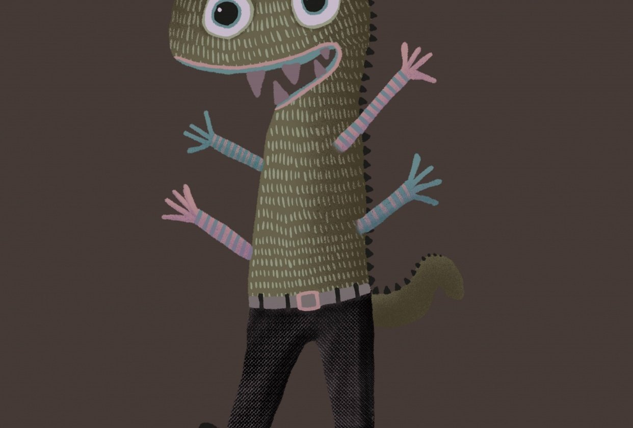 Having fun with monsters! - student project