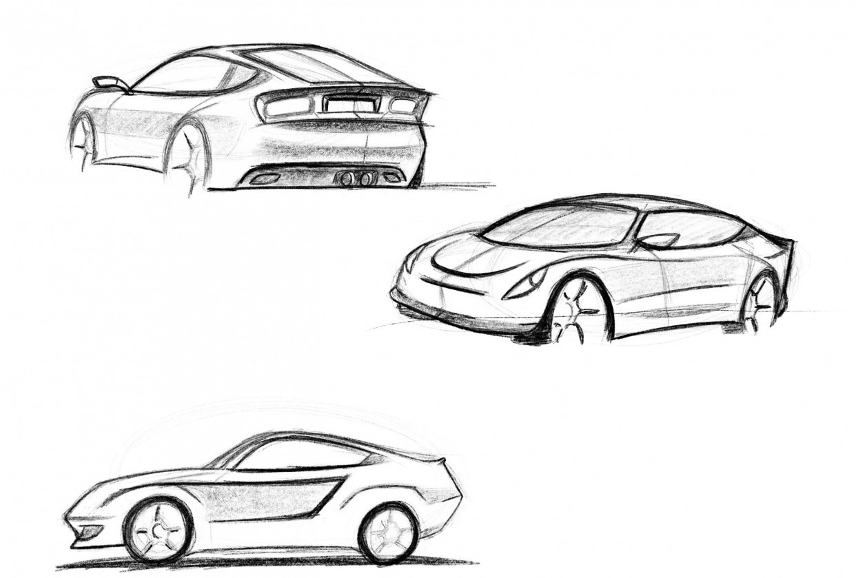 My first steps on sketching - student project