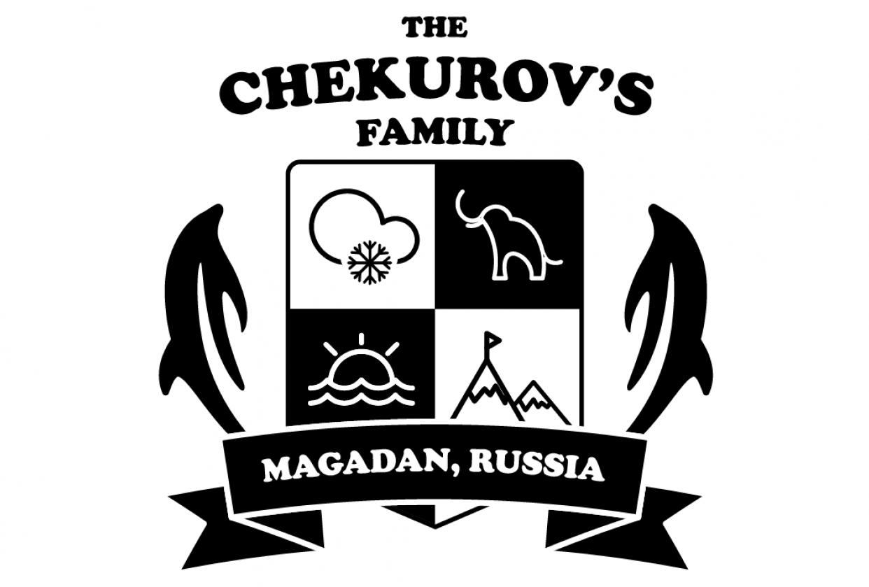 Chekurov's Family logo - student project
